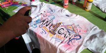 Shirt painting